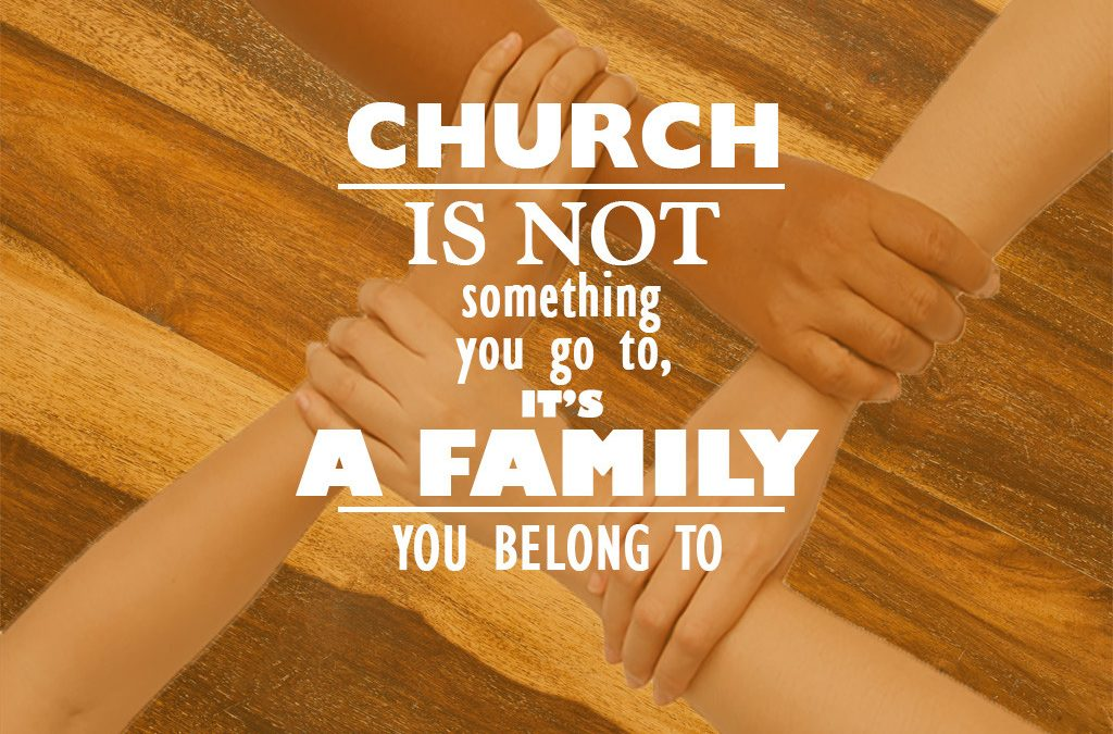 church is a family