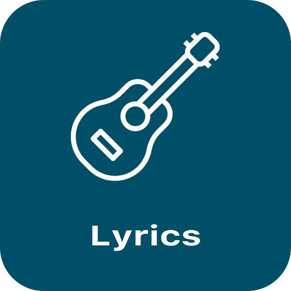 Lyrics Button